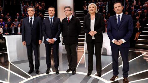 Le Pen contra todos en el primer debate presidencial ...