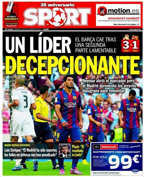 Le Real Madrid encensé, le Barça décevant