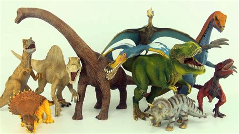 Learn counting and dinosaur names with Schleich dinosaurs ...