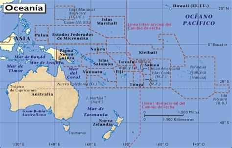 Learn Oceania Nations and its Capitals   elabueloeduca.com