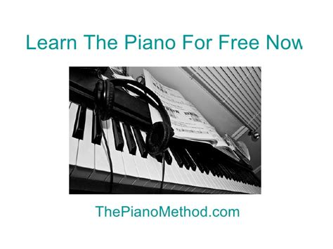 Learn play piano free for newbies