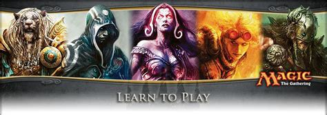 Learn to Play   MAGIC: THE GATHERING