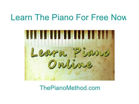 learn to play piano by ear for free