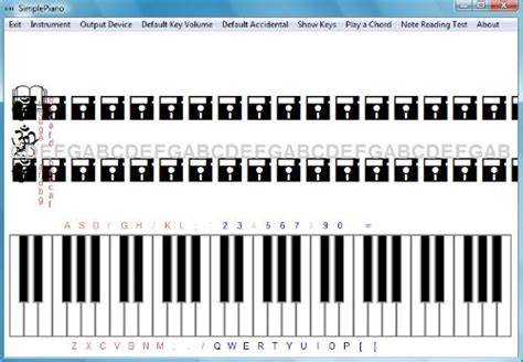 Learn to play piano with free piano software ...