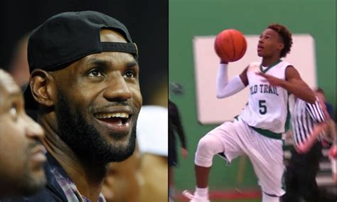 LeBron James Jr. led his team to a middle school title in ...