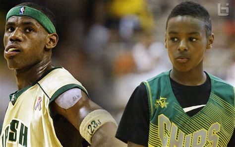 LeBron James Jr Refuses To Wear Dad's Number So People Won ...