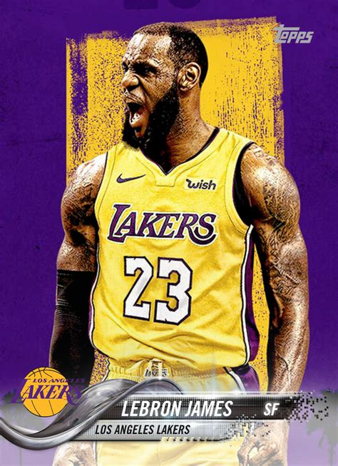 LeBron James Lakers | Favorite trading cards | Pinterest ...