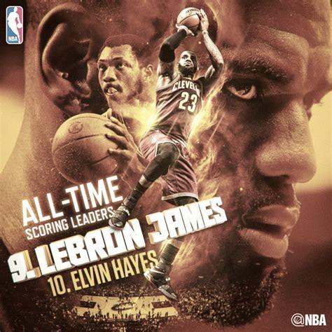 LeBron James se convierte en el 9º máximo anotador ...