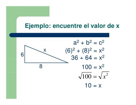 Leccion 1 teorema de pitagora