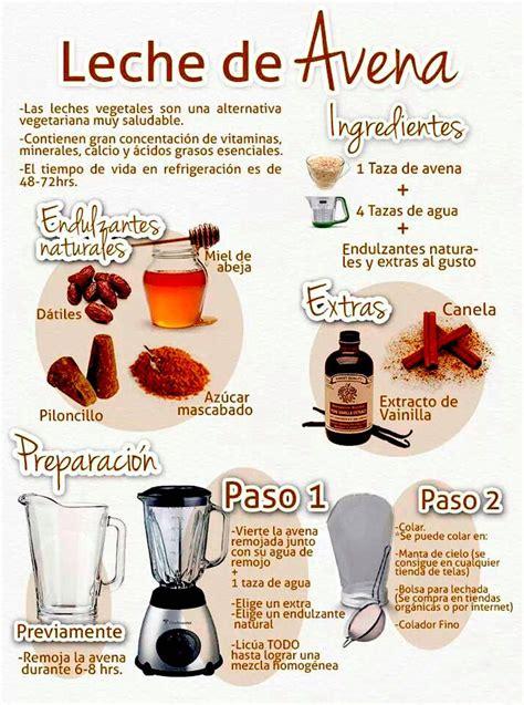 Leche de Avena (Excelente fuente de nutrientes) I http ...