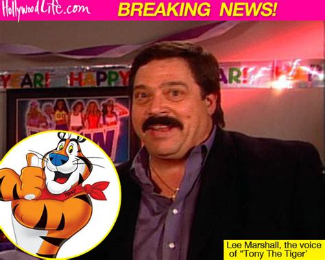 Lee Marshall Dead — Voice Of Tony The Tiger Dies At 64 ...