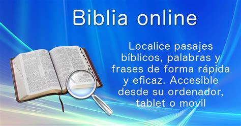 Leer la Biblia online