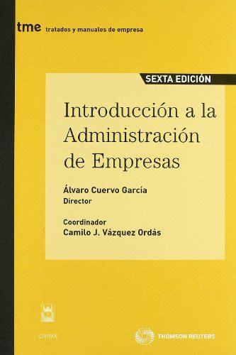 Leer Libro Introducción A La Administración De Empresas ...