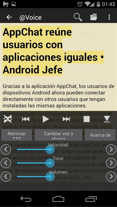 Leer texto, PDF en voz alta y español en Android • Android ...