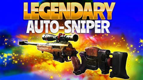 LEGENDARY AUTO SNIPER!  Fortnite Battle Royale    YouTube
