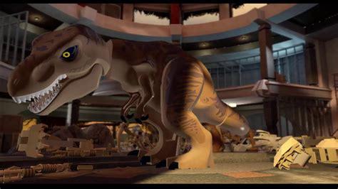Lego Jurassic Park 1 La Pelicula Castellano HD 1080p - YouTube