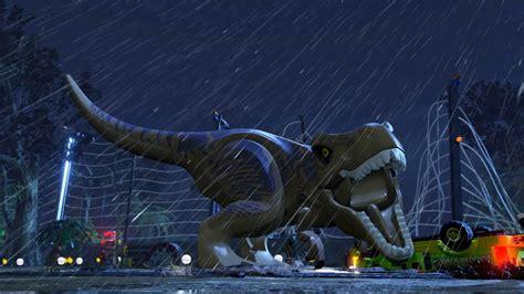 LEGO Jurassic Park Pelicula Completa Español - YouTube