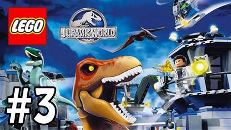 LEGO Jurassic World   Escapando del Tiranosaurio Rex ...