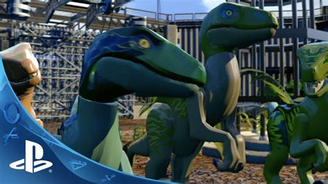 LEGO Jurassic World   Gameplay Trailer 2 | PS4, PS3, PS ...