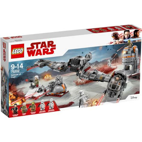 LEGO Star Wars: Defensa de Crait™ (75202) Toys | Zavvi España