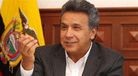 Lenín Moreno ratifica compromiso de impedir regreso al ...