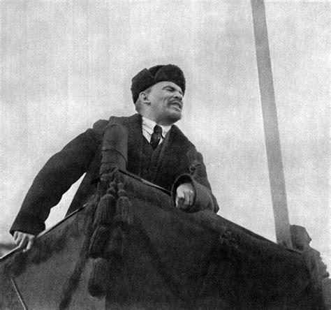 Lenin Speaking at Red Square