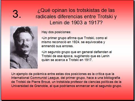 leninismo o trotskismo por harpal brar - Antitrotskismo ...