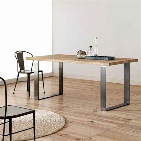 Les 25 meilleures idées de la catégorie Table bois et fer ...