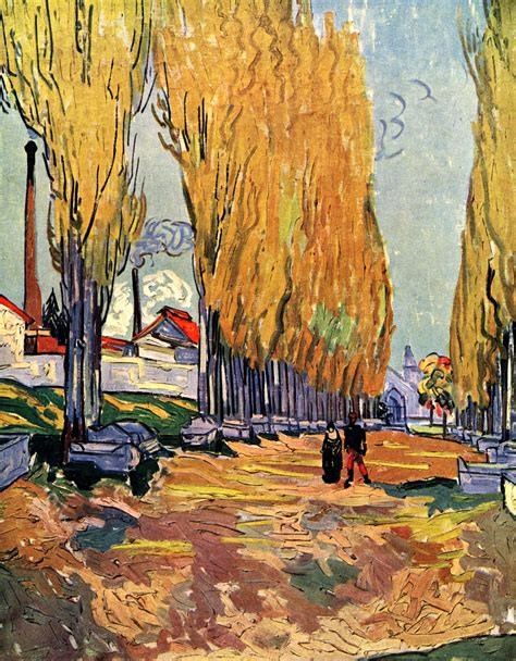 Les Alyscamps, 1888   Vincent van Gogh   WikiArt.org