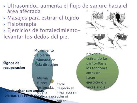 Lesion del tendon de aquiles