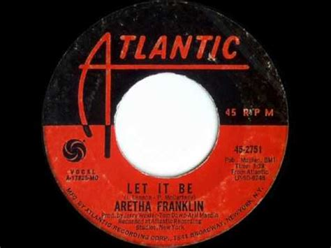 Let It Be (tradução) - Aretha Franklin - VAGALUME