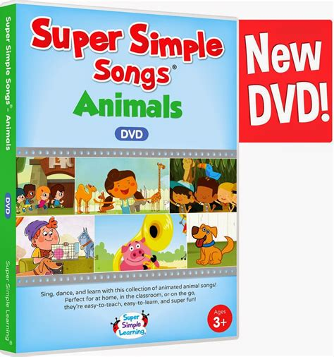 Let's Talk! with Whitneyslp: Super Simple Songs: Animals ...