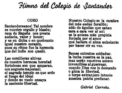 Letra De Himno Nacional De La Republica De Colombia ...