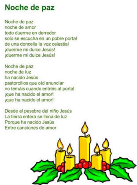 Letra De Villancicos De Navidad En Español My Blog