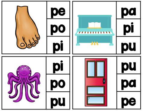 Letra P pa, pe, pi, po, pu BUNDLE | Spanish, Language and ...