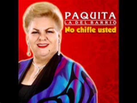 Letra Soltero Maduro Paquita La Del Barrio De Cancion