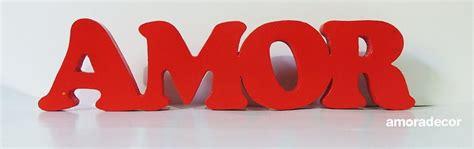 Letras 3d AMOR vermelha no Elo7   Amora Festas  5C29DF