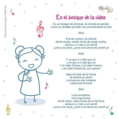 *Letras de Canciones infantiles. - EduInf35 | canciones ...