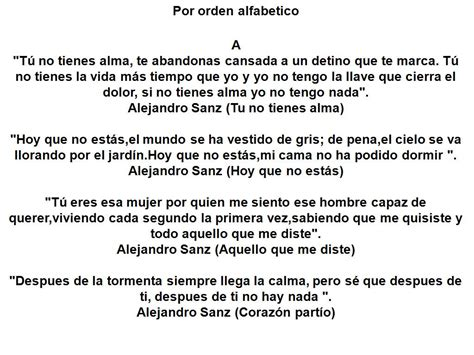 Letras De Canciones Poemas Poemas De Amor Y Frases Para ...