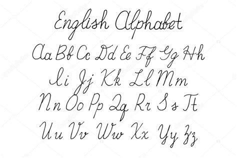 Letras del alfabeto mayúsculas, minúsculas — Vector de ...