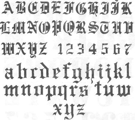 letras goticas alfabeto gotico.jpg | Loghi | Pinterest ...