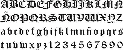 Letras goticas mayusculas - Imagui