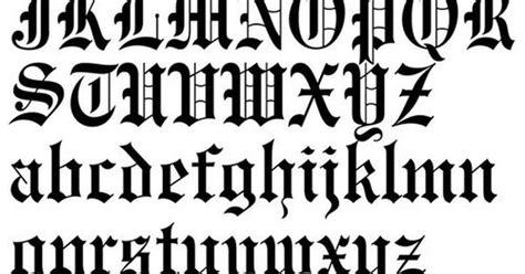 letras goticas para imprimir   Letras góticas mayúsculas y ...