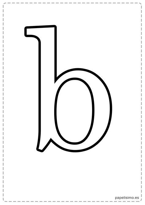 Letras grandes para imprimir (minúsculas) - PAPELISIMO
