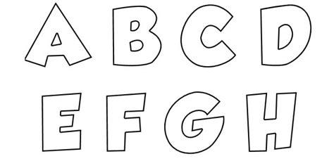 Letras para imprimir