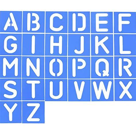 Letter Stencil Templates: Amazon.com