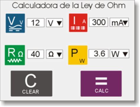 Ley de Ohm   Inventable