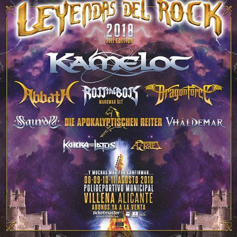 LEYENDAS DEL ROCK 2018   Nuove band confermate   Loud and ...