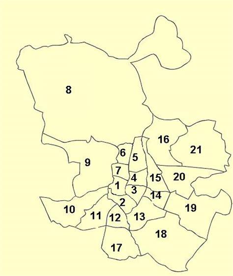 LFM CIBER PROFE: Los 21 distritos de Madrid capital