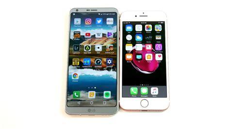 LG G6 vs iPhone 7!   YouTube